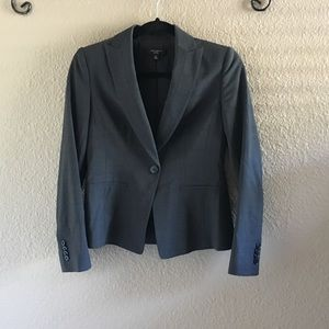 Ann Taylor Dark Grey Blazer Jacket